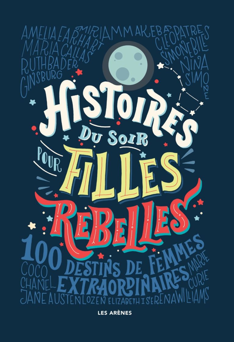 histoires du soir pour filles rebelles-bleu