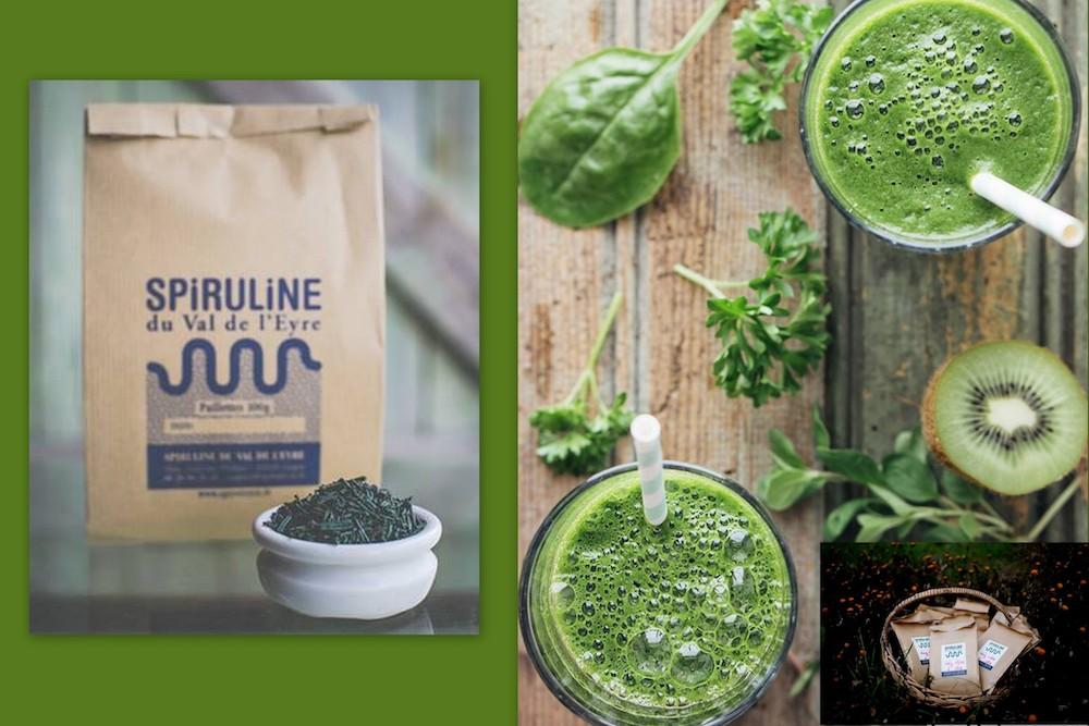 Green-smoothie-aa-la-spiruline