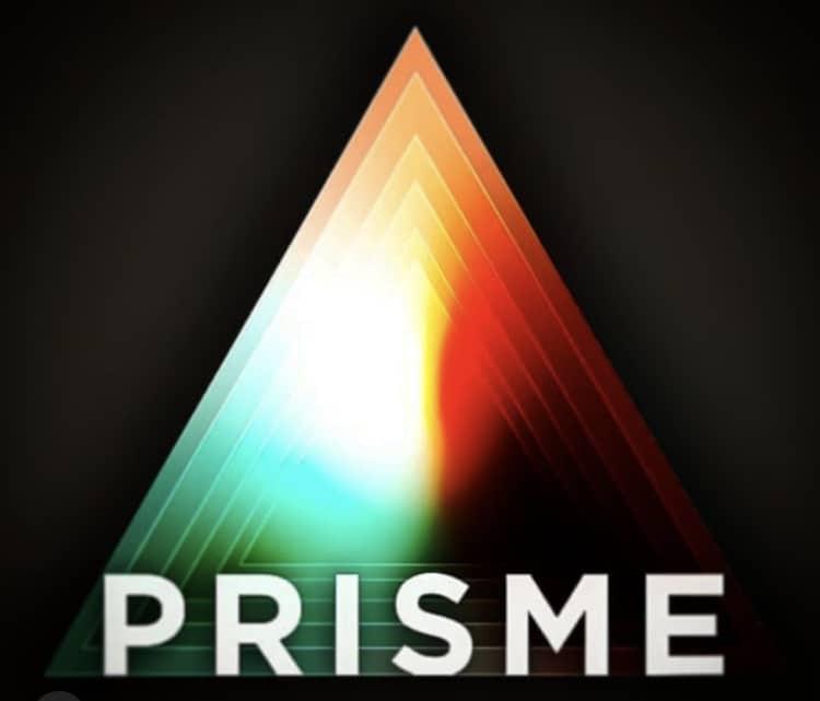 Prisme qui décompose la lumière
