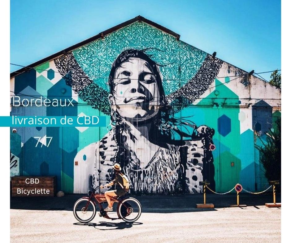 CBD bicyclette arrive à Bordeaux