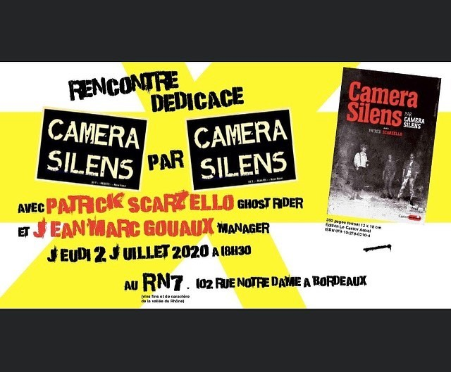 Rencontre dédicace avec Patrick Scarzello et Camera Silens