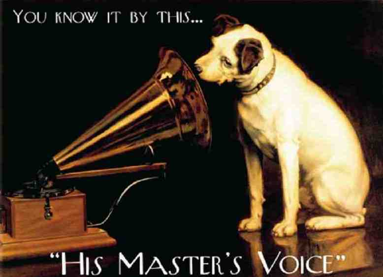 HMV EMI Nipper