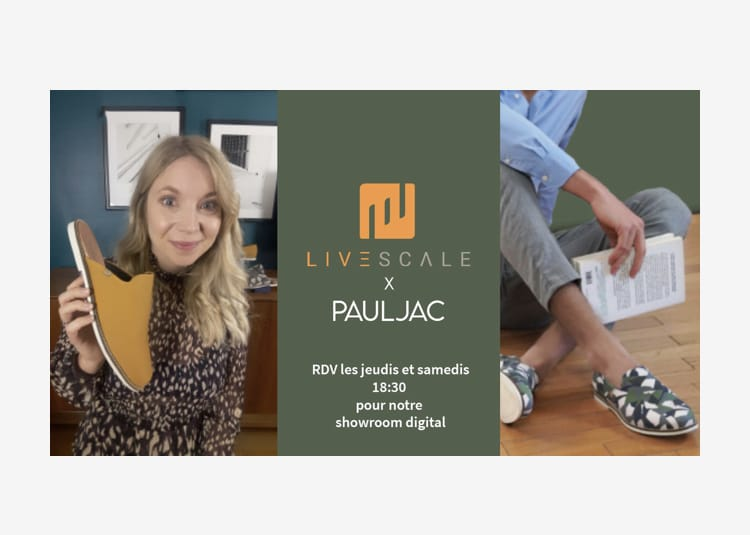 Le live shopping Pauljac pionnier en France