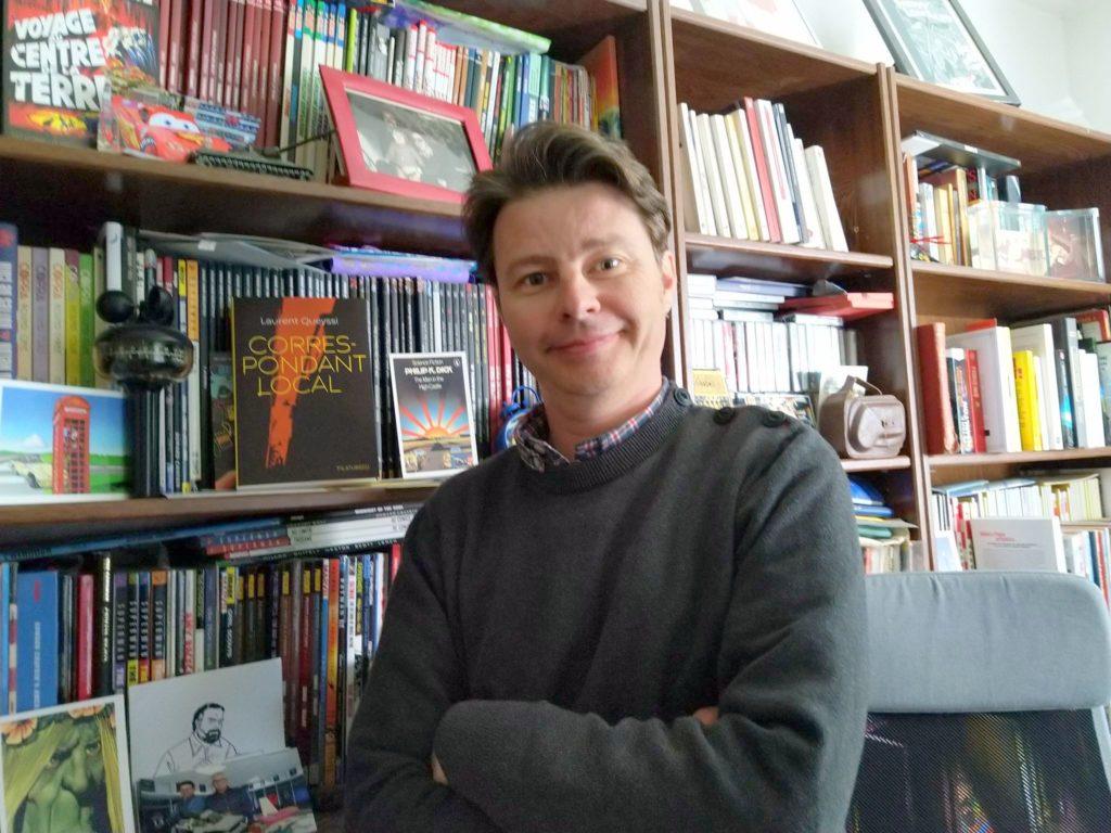 Laurent Queyssi, un auteur prolifique