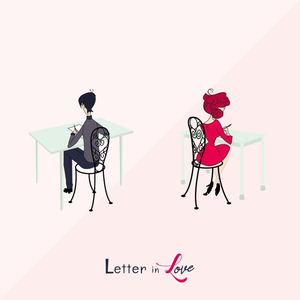 S'écrire pour mieux se découvrir avec Letter in Love