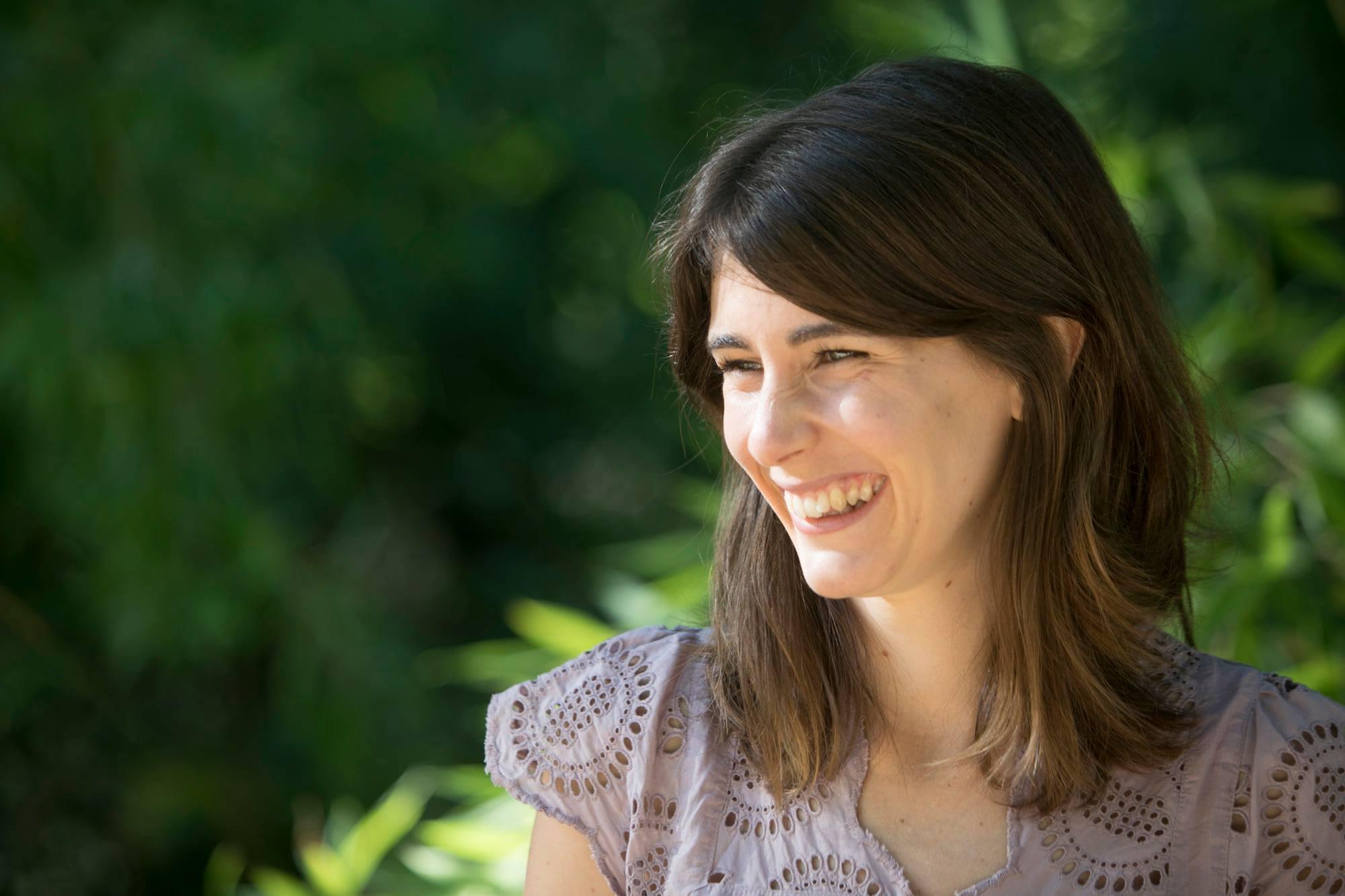 Anaelle Sorignet, auteure du livre
