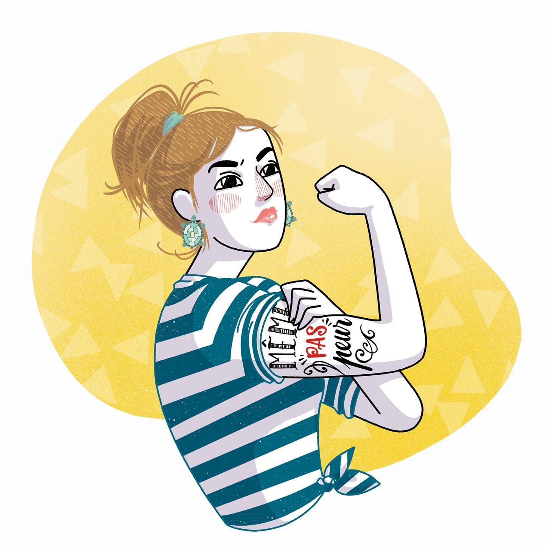 illustration de liane langenbach