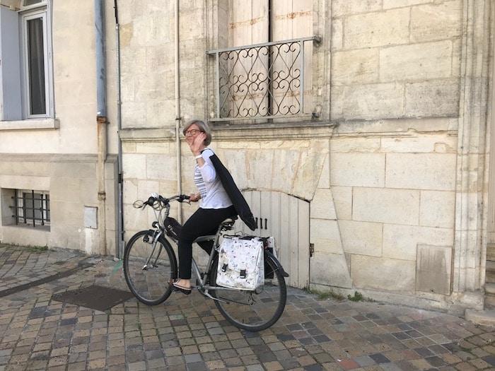 La bike attitude de l'Atelier Jaune Poussin
