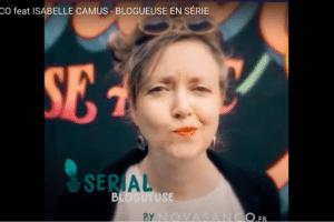La Journée Mondiale du Blog incarnée par Isabelle Camus aka Serial blogueuse aka Jugeote