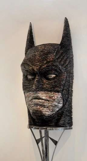 Batman en canettes d'Alfredo Longo