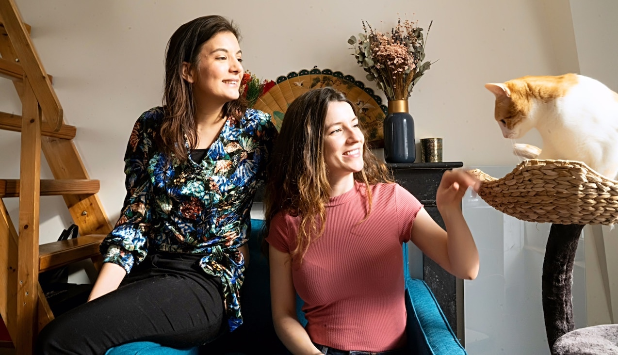 Léa, Armelle et Loulou la team de Petits Fripons