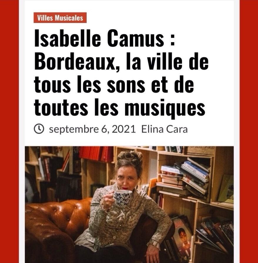 Isabelle Camus aka Serial blogueuse aka Jugeote, le média qui en a !